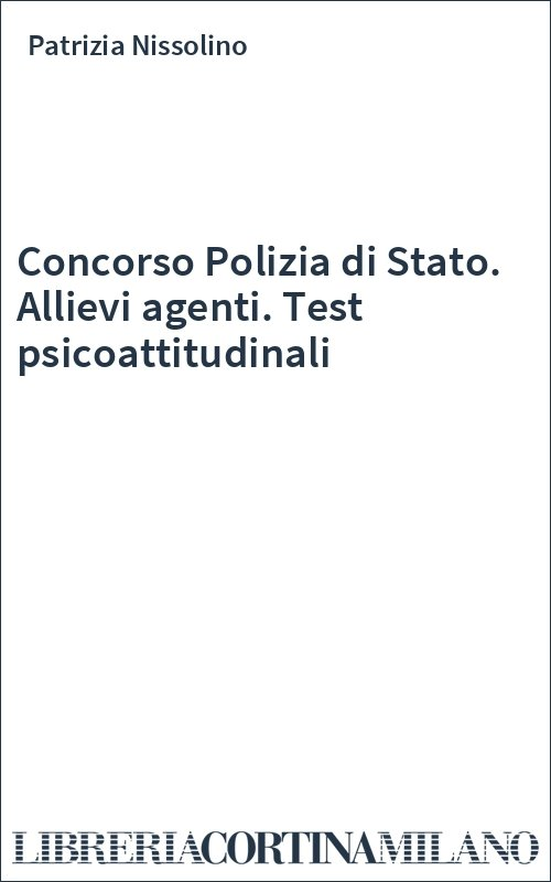 test psicoattitudinali
